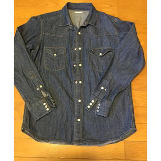 GU - GU⭐️デニム長袖シャツ