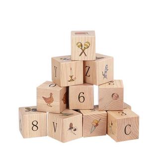 キャラメルベビー&チャイルド(Caramel baby&child )のKonges Sloejd 積み木 木製ブロック コンゲススロイド(積み木/ブロック)