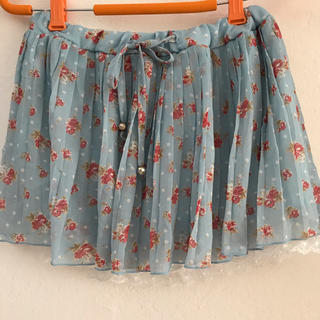 エムズエキサイト(EMSEXCITE)のエムズエキサイト 花柄スカートパンツ Mサイズ(キュロット)