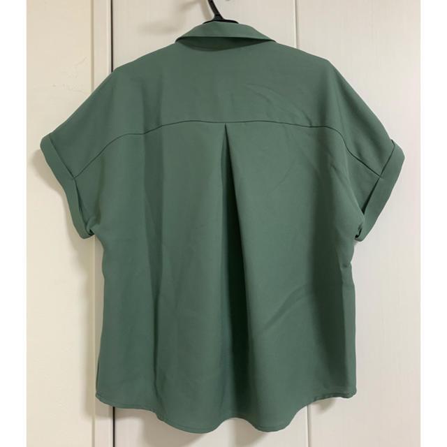 GU(ジーユー)のGU エアリーシャツ(半袖) レディースのトップス(シャツ/ブラウス(半袖/袖なし))の商品写真