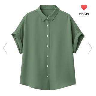 GU エアリーシャツ(半袖)