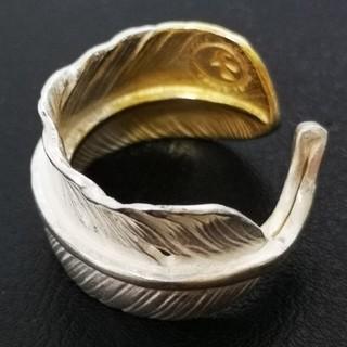 ゴローズ(goro's)の■ラクマ限定特価■ 極美品 先金特大フェザーリング (リング(指輪))