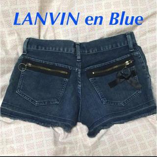 ランバンオンブルー(LANVIN en Bleu)のランバンオンブルー  ショートパンツ(ショートパンツ)
