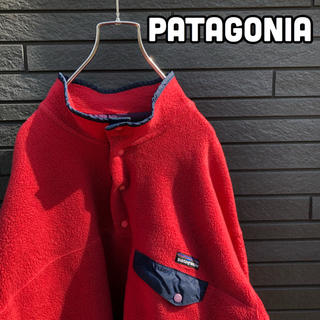 パタゴニア(patagonia)の【激レア】patagonia 雪無しタグ スナップT 90's(ブルゾン)