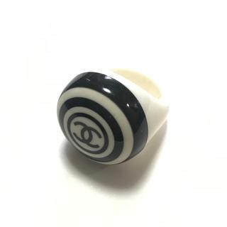 シャネル(CHANEL)のCHANEL シャネル★レア物 ココマーク リング バイカラー 指輪 ボリューム(リング(指輪))