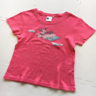 ディズニー(Disney)のミッキー&ミニープリントTシャツ❃Disney(Tシャツ(半袖/袖なし))