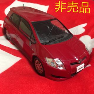 トヨタ(トヨタ)のトヨタ純正 カラーサンプル 非売品 オーリス ミニカー 車模型 色見本 クルマ (ミニカー)