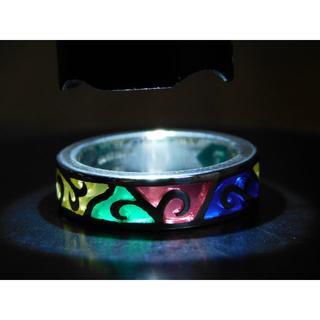 新品 セインツ SAINTS ステンドグラスシルバーリング 15号(リング(指輪))