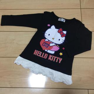 ハローキティ - 美品☆ハローキティ☆長袖Tシャツ☆90
