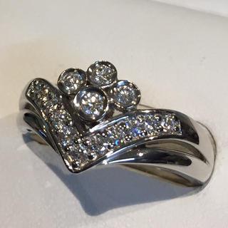 ポーラ(POLA)のポーラ ♡豪華 プラチナ ダイヤモンド リング 19Y-76(リング(指輪))