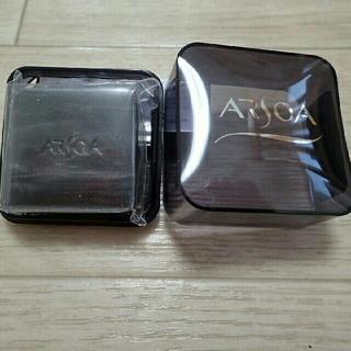 アルソア(ARSOA)の20gケース付未使用送料込 アルソア クイーンシルバー(枠練石けん)(洗顔料)
