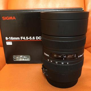 SIGMA - SIGMA 超広角レンズ 8-16mm f/4.5-5.6 DC