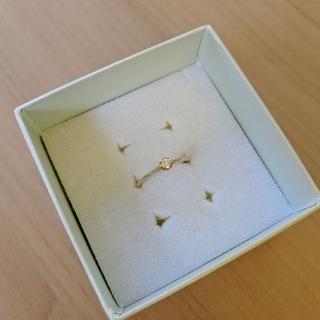 アガット(agete)のagete アガット 18k ダイヤ リング(リング(指輪))
