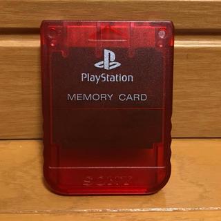 プレイステーション(PlayStation)のプレイステーション メモリーカード プレステ(その他)