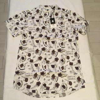 Ron Herman - 新品 TCSS STATE OF UNDRESS SHIRT アロハシャツ L