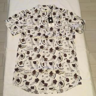 ロンハーマン(Ron Herman)の新品 TCSS STATE OF UNDRESS SHIRT アロハシャツ L(シャツ)