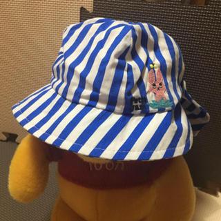 プチジャム(Petit jam)の新品!プチジャム♡ベビー帽子ブルー♡46cm(帽子)
