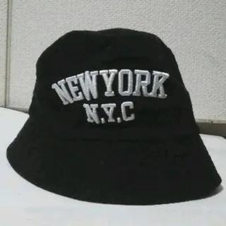 ロンハーマン(Ron Herman)のロンハーマンNEWYORK N.Y.Cブラックカラーコーディロイハットフリー新品(キャップ)