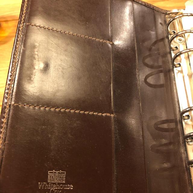 WHITEHOUSE COX(ホワイトハウスコックス)のwhite house cox 手帳 メンズのファッション小物(手帳)の商品写真