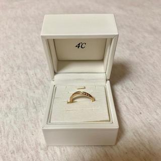 ヨンドシー(4℃)の4°C 18金(リング(指輪))