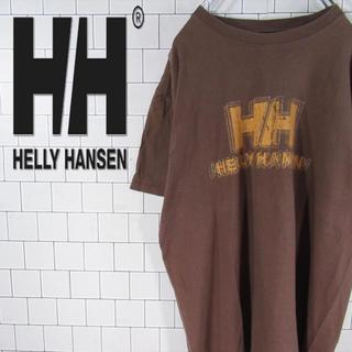 ヘリーハンセン(HELLY HANSEN)の【激レア】ヘリーハンセン デカロゴ プリント Tシャツ カットソー 古着(Tシャツ/カットソー(半袖/袖なし))