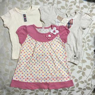 ビケット(Biquette)の半袖Tシャツ 3枚セット♡80cm(Tシャツ)