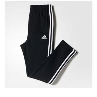 アディダス(adidas)の新品タグつきadidas3ストライプス スウェットパンツ裏起毛130センチ(パンツ/スパッツ)