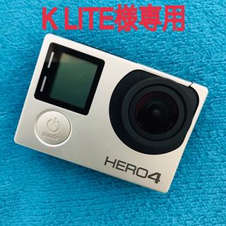 GoPro - GoPro hero4 silver☆ゴープロ4