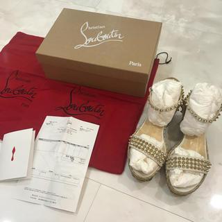 クリスチャンルブタン(Christian Louboutin)のクリスチャンルブタン サンダル ウエッジ とげとげ 靴(サンダル)