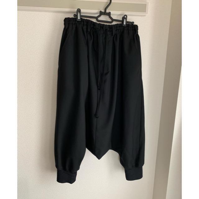 Yohji Yamamoto(ヨウジヤマモト)のGround Y サルエルパンツ メンズのパンツ(サルエルパンツ)の商品写真