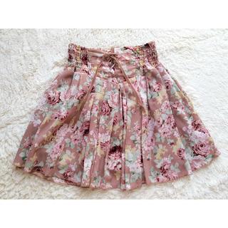リズリサ(LIZ LISA)の定価¥7,245💗LIZ LISA💗ローズウエスト編み上げスカート🌹💕(ミニスカート)