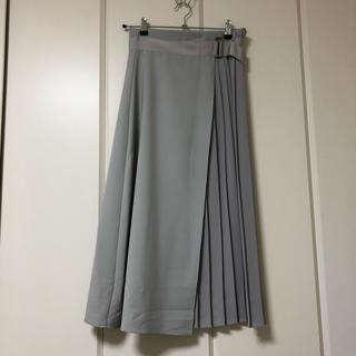 ハレ(HARE)のHARE バックプリーツフレアスカート(ロングスカート)