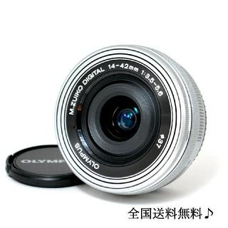 OLYMPUS - ☆電動パンケーキレンズ☆オリンパス♫ M.ZUIKO 14-42mm