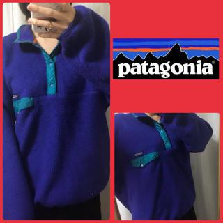 パタゴニア(patagonia)のパタゴニア パープルボア  プルオーバー(ブルゾン)