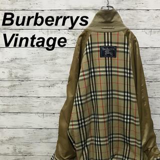 BURBERRY - 送料無料!90s 古着 バーバリー スイングトップ ノバチェック ヴィンテージ