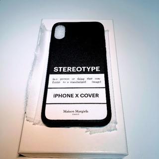 【新品】メゾンマルジェラ iPhone X/XS対応 スマートフォンケース