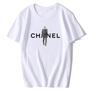 シャネル(CHANEL)のパロディ シャネル Tシャツ カール(Tシャツ(半袖/袖なし))