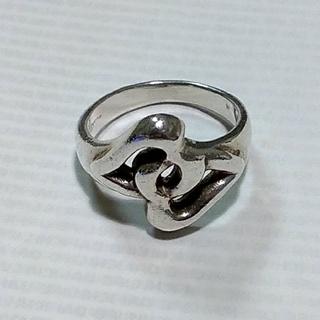 シルバー925 ダブルハートのリング(リング(指輪))
