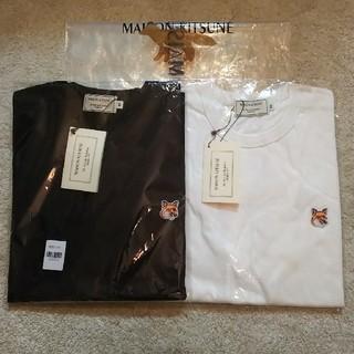 メゾンキツネ(MAISON KITSUNE')の2枚セット! Maison kitsune ヘッドパッチ(Tシャツ/カットソー(半袖/袖なし))