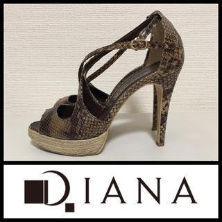 ダイアナ(DIANA)の*DIANA*パイソン柄/サンダル(サンダル)