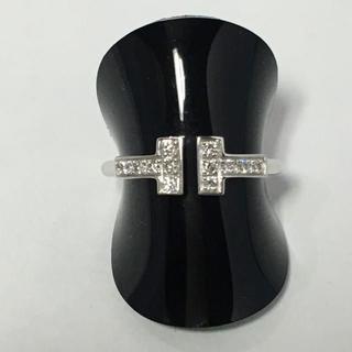 ティファニー(Tiffany & Co.)のティファニーTワイヤーダイヤモンドリング(リング(指輪))