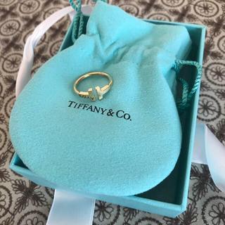 ティファニー(Tiffany & Co.)の❁︎ TIFFANY Tワイヤーリング ❁︎ 箱つき(リング(指輪))