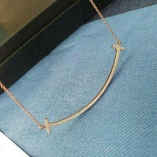 Tiffany & Co. - ティファニー T スマイルペンダント Lサイズ