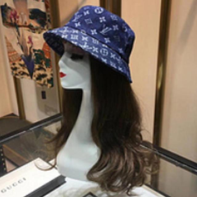 LOUIS VUITTON(ルイヴィトン)のLOUIS VUITTON ルイ·ヴィトン  ハット 帽子 レディースの帽子(ハット)の商品写真