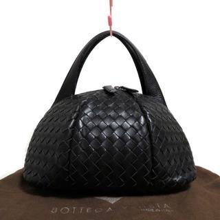 ボッテガヴェネタ(Bottega Veneta)の良品 ボッテガヴェネタ 立体型 レザー イントレ ハンド バッグ(ハンドバッグ)