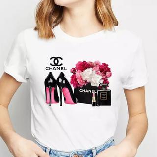 シャネル(CHANEL)のXL1枚ハイヒールCHANEL大人気Tシャツ(Tシャツ(半袖/袖なし))