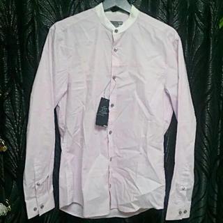 ロンハーマン(Ron Herman)のH&Mエイチアンドエムブラックレーベルスリムフィット高級ドレスシャツピンク新品S(シャツ)