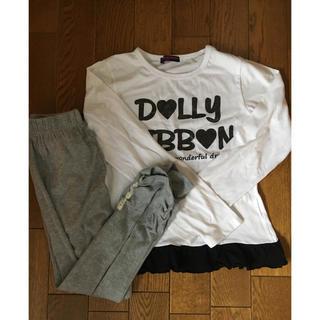 160  ルームウェア  女の子  Tシャツ  パジャマ(パジャマ)