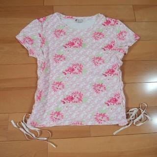 リズリサ(LIZ LISA)のリズリサ 花柄半袖Tシャツ(Tシャツ(半袖/袖なし))
