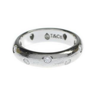 ティファニー(Tiffany & Co.)のティファニー10PダイヤモンドPt950プラチナドッツリング指輪白金ゴールド6号(リング(指輪))